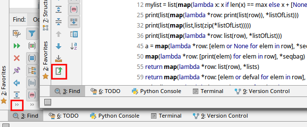 IntelliJ/PyCharm 18 find with regex and save result to text file