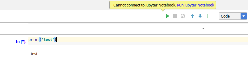 How to create Jupyter Notebook in PyCharm