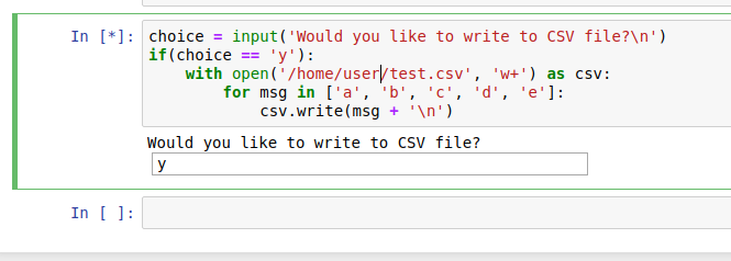 Notebook Ipython/Jupyter optional cell