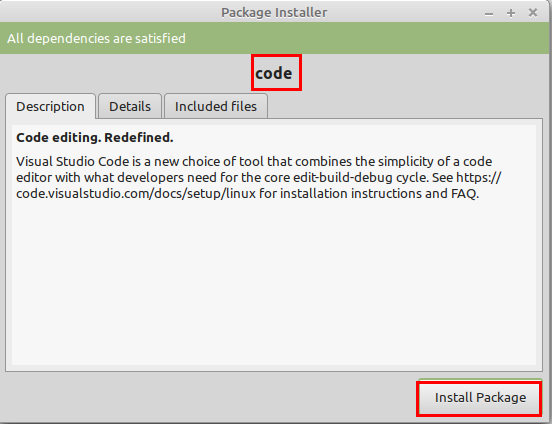 installer-visual-studio-code-linux-mint
