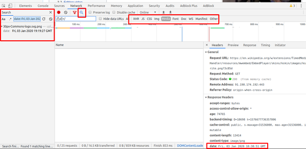 Google Chrome DevTools: Inspect Network Activity