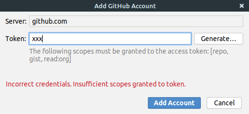 [GitHub] Deprecation Notice -  Basic Authentication Using a Password to Git Is Deprecated